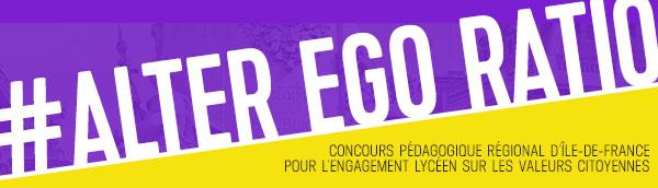 Alter Ego Ratio - Concours Ligue de l'enseignement